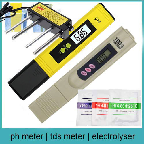 Combo: ph, tds & electrolyser