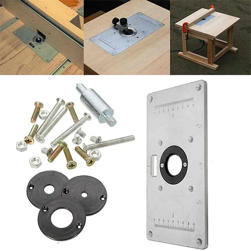 Aluminum Router Table Plate