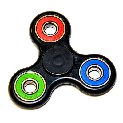 Fidget Spinner Black RGB