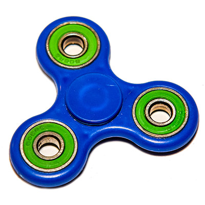 Fidget Spinner Blue Green