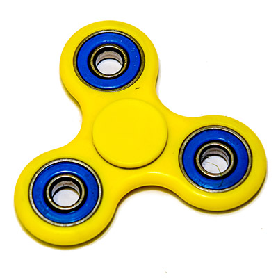 Fidget Spinner Yellow Blue